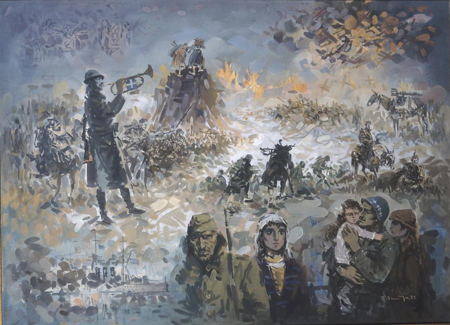 Βακιρτζής Γεώργιος, Πόλεμος του 40