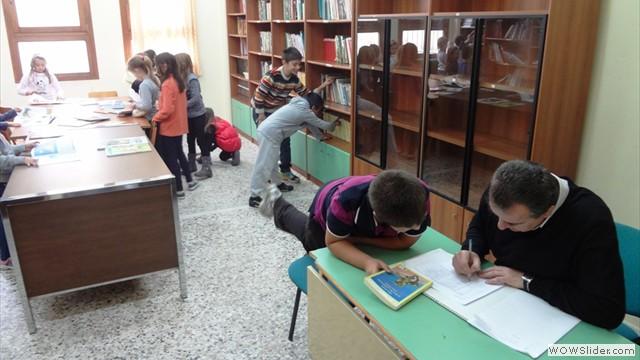Έναρξη λειτουγίας σχολικής βιβλιοθήκης 2013-'14